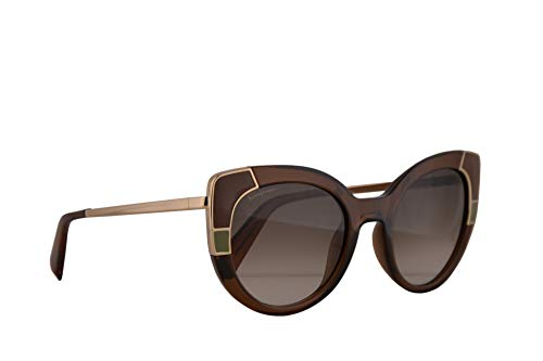 Salvatore Ferragamo SF890S Sunglasses Crystal Brown w/Grey Gradient Lens 52mm 210 SF ()