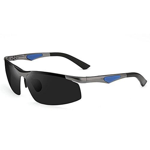 lunettes en Couleur lunettes de A solaire B des de légères voyage air conduisant de lunettes aluminium en lunettes ZHIRONG polarisées définition soleil magnésium haute plein protection Hommes 1nxPxw6