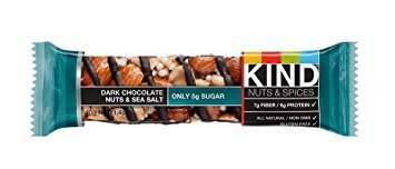 KIND Bars, Nuts and Spices Variety Pack, Gluten Free, 1.4 Ounce Bars, 12 Count - Pack of 6