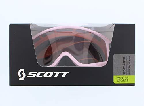Jr Ski Goggle - Jr Agent ski goggle pink