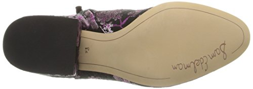 Women's Edelman UK Sam Taye Multi Bootie Pink 8 Ankle Black qHp5wfp