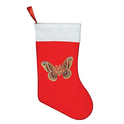Christmas Snowy Stocking for Holiday Party Decorations Gift-One Piece Moth