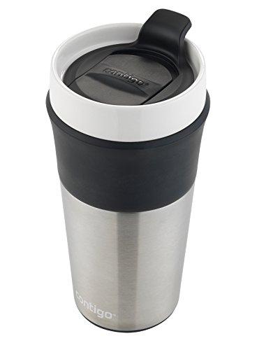 Contigo Knox Insulated Ceramic travel Mug 12oz Stainless stainlesss steel Commuter travel Mugs