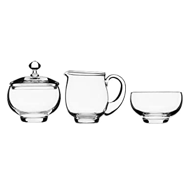Luigi Bormioli Crescendo 4 Piece Hostess Set, Clear