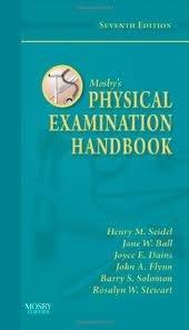 Mosby's Physical Examination Handbook 7th (seventh) edition