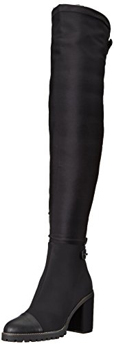 Chinese Laundry Women's Jerry Winter Boot, Black Lycra, 8.5 M - Boot Stretch Tall