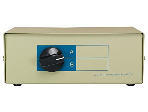 (Cable Leader DB502-0002 2-Way DB9 Manual Data Switch Box44; AB Male)