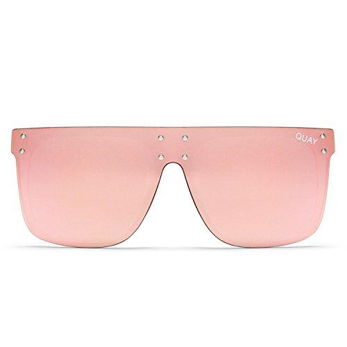 Quay Australia HIDDEN HILLS Women's Sunglasses Oversized Shield - - Boss Like A Sunglasses