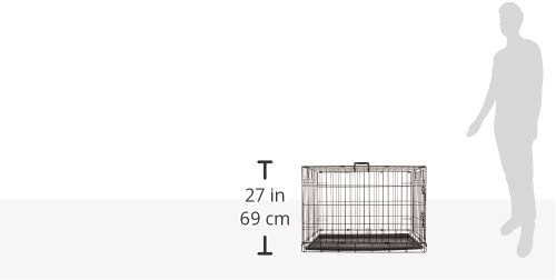 ProSelect Easy Dog Crates for Dogs and Pets Black
