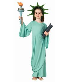 [Statue of Liberty Costume Child - Small] (Group Office Costumes)
