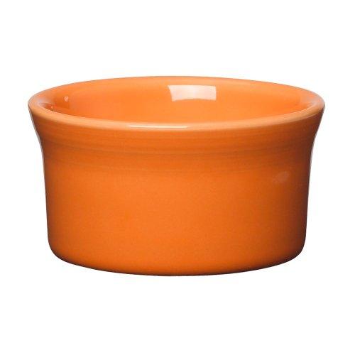 Fiesta Ramekins (Homer Laughlin China 568325 Fiesta Tangerine 8 oz Ramekin - 6 / CS)