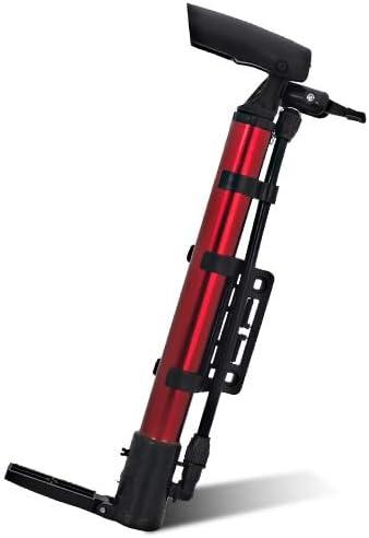 YYCFB Bicicleta Inflador Neumático Bicicleta Inflador Portátil Bomba de Aire Bicicleta de montaña Bicicleta de montaña Inflador de Bicicleta Accesorios de presión de Aire Rojo Bicicleta Inflador: Amazon.es: Coche y moto