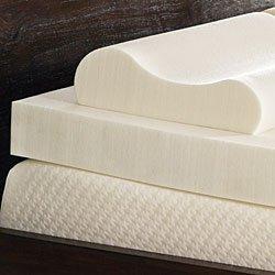 Comfort Dreams 3-inch Memory Foam Mattress Topper w/Contour Pillow Set- King-size