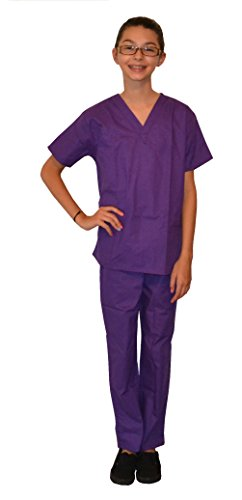 My Little Doc Purple Scrubs