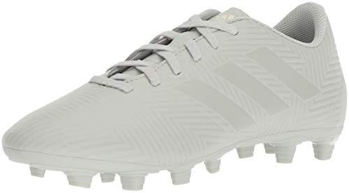 adidas Men's Nemeziz 18.4 Firm Ground Soccer Shoe, ash Silver/White Tint, 8.5 M US