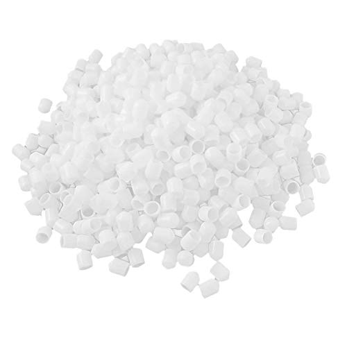 (Yohii 1000 PCS White Soft Plastic RCA Protector Cap Cover for DVD Amplifier)