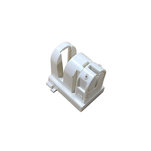 Leviton 13654-EXL Medium To Miniature Base, T5 Bi-Pin, Standard Fluorescent Lampholder, White