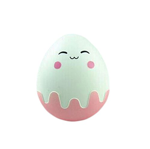 Cute Creative Little Egg Contact Lens Cases For (Pink Sweetheart Glasses)