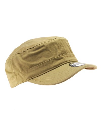 Retro Fitted Hat Cap (Blank / Plain Adjustable Velcro Baseball Cap / Hat - White)