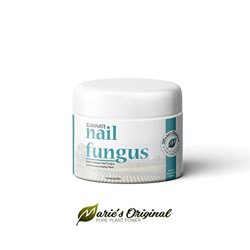 Marie's Original Nail & Toenail Fungus Cream - Natural Organic Handmade Antifungal Healing Ointment Topical Treatment - Essential Oil Herbal Remedy for Jock Itch, Ringworm, Yeast Infection