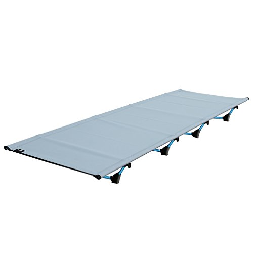 OUTAD Ultralight Folding Camping Bed Cot with Storage Bag 200KG Bearing Breathable Waterproof Bed Surface (Grey)