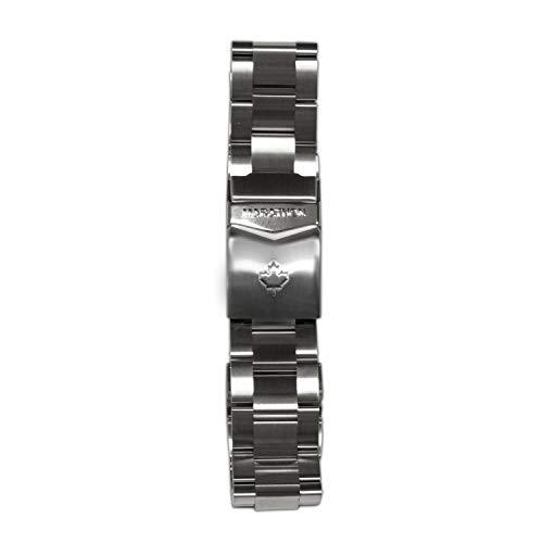 Marathon WW005007CA Stainless Steel, Military Grade Bracelet's (22 mm, Maple Leaf)