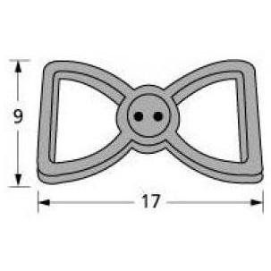 Music City Metals 22102 Cast Iron Burner Head Replacement for Select Broilmaster Gas Grill Models