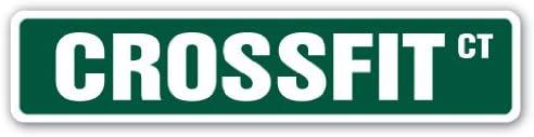 SignMission Crossfit Street – Señal de Fitness para Correr, Bailar ...