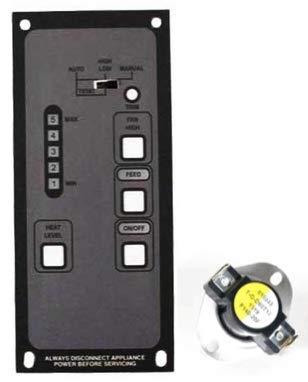 Bosca Soul 700 Pellet Stove 5-Level Control Board w/Low Limit Sensor 12780133 by Bosca