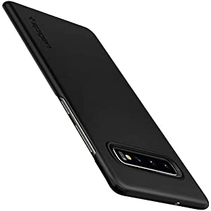 Spigen Thin Fit (Air - Extra Thin) Designed for Samsung Galaxy S10 Case (2019) - Black
