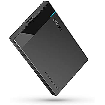 Amazon.com: UGREEN External Hard Drive Enclosure USB 3.0 to ...
