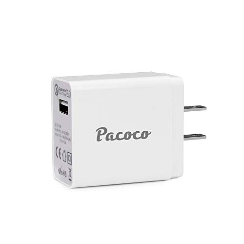 Clearance Sale!DEESEE(TM)Pacoco Qualcomm Quick Charge 3.0 USB Wall Charger 18W -
