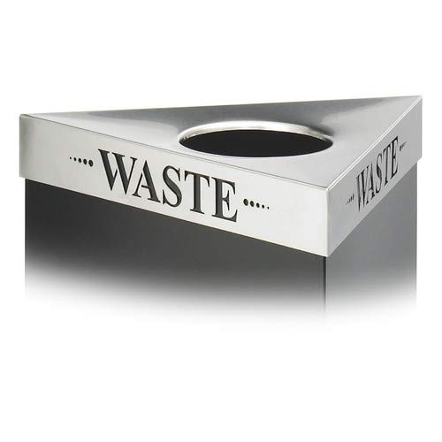 Trifecta Receptacle Waste Lid - OKSLO Products company trifecta waste receptacle lid