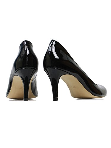 CITY COURTS Vegan Will's PATENT BLACK Shoes TCpxgq