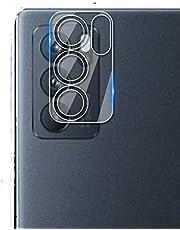 ل OPPO Reno 6 5G واقي شاشة عدسة الكاميرا نانو مرن مضاد للصدمات واضح
