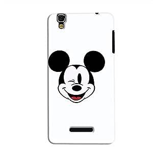 Cover It Up - Wink Mickey YU Yureka Hard Case