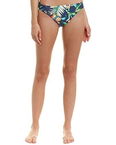 (Lucky Brand Women's Reversible Hipster Bikini Swimsuit Bottom, Indigo, XS)