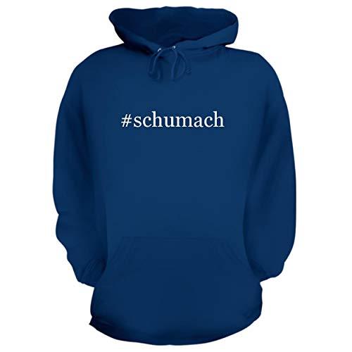Price comparison product image BH Cool Designs Schumach - Graphic Hoodie Sweatshirt,  Blue,  Medium