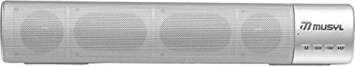 OnlineWorld Attractive Wireless Bluetooth Smart Class C15 Portable Bluetooth Soundbar  Silver  Bluetooth Speakers