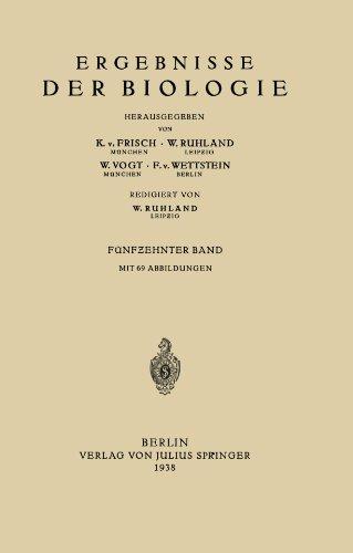 Ergebnisse der Biologie: Fünfzehnter Band (German Edition)