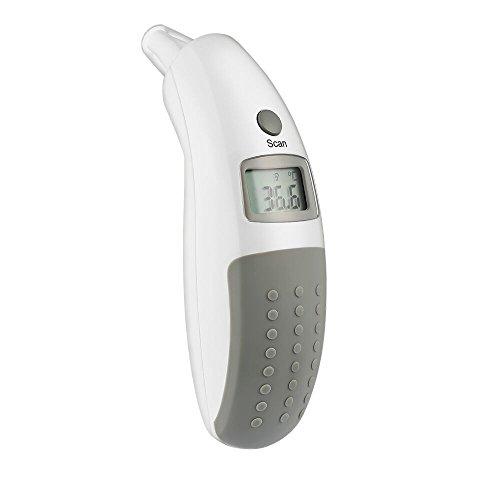 AVANTEK Infrarot Ohrthermometer Fieberthermometer mit Speicherfunktion | Piepton-Warnung für Mögliches Fieber für Kinder und Erwachsene