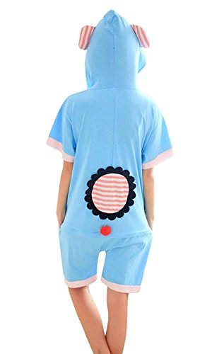 f6c9282fbf Cameinic Women s Summer Cosplay Elephant Cute Pajamas Animal ...