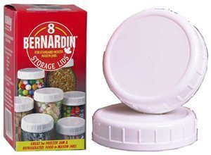 - Bernardin Mason Jar Caps - Plastic - Standard