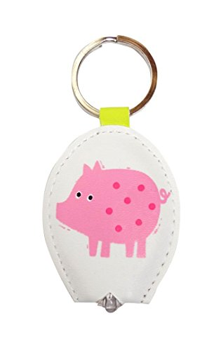 Pig - Keylight - Keyring with Built-in LED Torch - Gift Idea