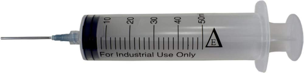 Box of 25 x 50 ml Industrial Syringes with 15G x 1-1/2