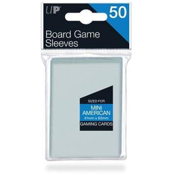 Ultra Pro-E-82662 Fundas para Cartas, Color Transparente, 41 x 63 mm (Devir Iberia 330473): Amazon.es: Deportes y aire libre