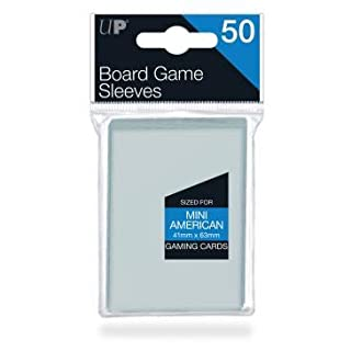 Ultra Pro 41mm X 63mm Mini American Board Game Sleeves 50ct