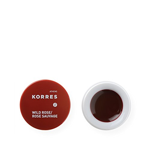 Korres Lip Butter, Wild Rose, 0.21 (0.21 Ounce Lip Stain)