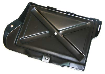Inline Tube INL1113 1968-72 Pontiac GTO Lemans Firebird Battery Tray Painted Black All V8 Cars NOSR (F-5-1)