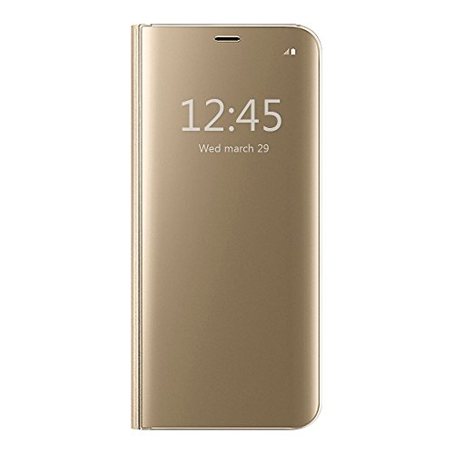 S-View Flip Cover for Samsung Galaxy A5 (Gold) - 1
